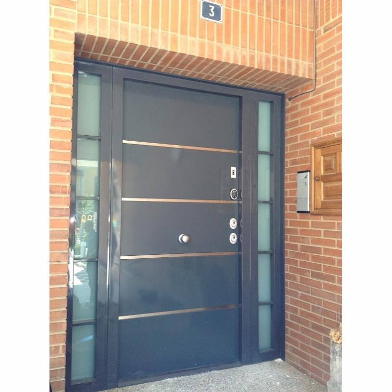 Puertas instaladas casas unifamiliares - Puertas de chalet ...